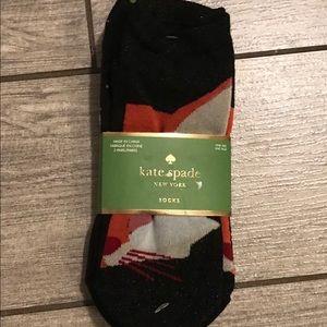 Kate spade 3 pack of footie socks